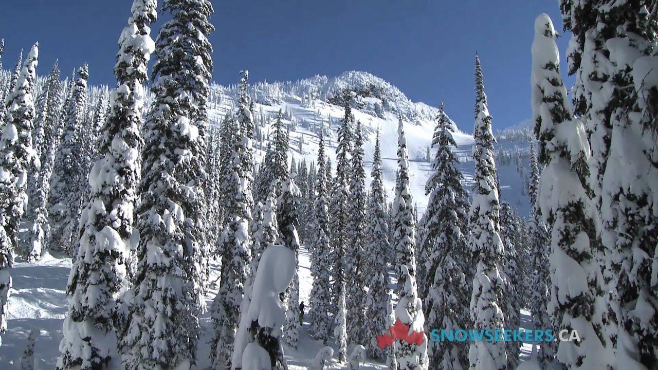 whitewater ski resort, nelson, bc, canada - the snowshow - youtube