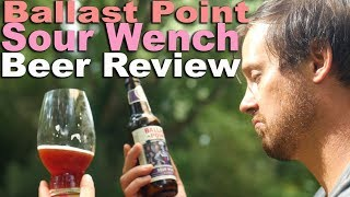 Ballast Point Sour Wench Beer Review. A Blackberry Sour Ale from our Inbev Overlords