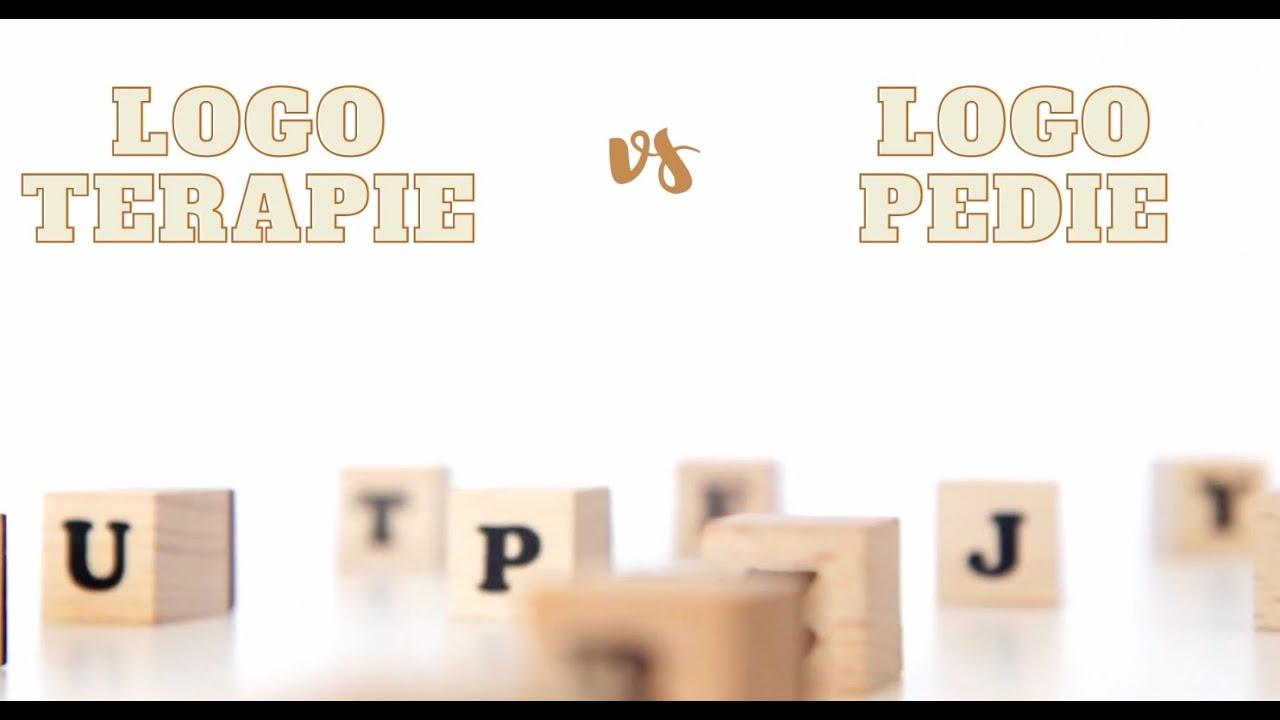 Logoterapie vs. logopedie | Videopřednáška Vojtecha Regece