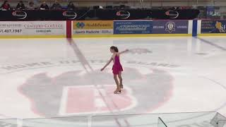 Alaina's excel pre-juvenile program at the Maplewood fall classic 2019
