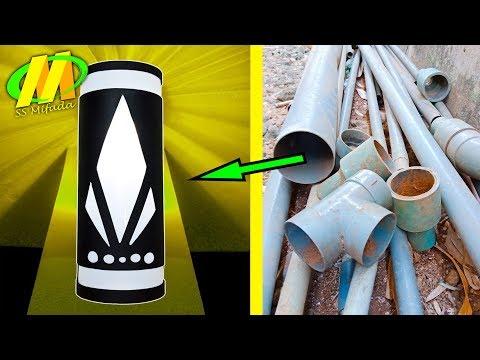 BISNIS KREATIF!! Lampu hias PIPA AIR/Paralon