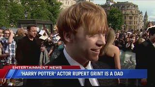 Rupert Grint Welcomes Baby