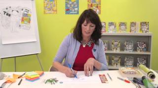Liz Pichon shows you how to draw Mr Fullerman