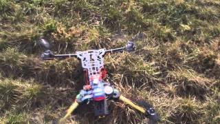 Jarocin 8.02.2014 - Quadcopter ATG H4 680mm TEST