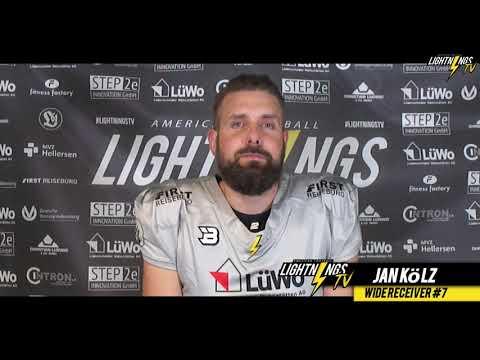Lightnings Football - Jan Kölz - Wide Receiver #7 #americanfootball