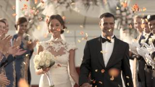 Wedding in the Skies on Burj Al Arab helipad