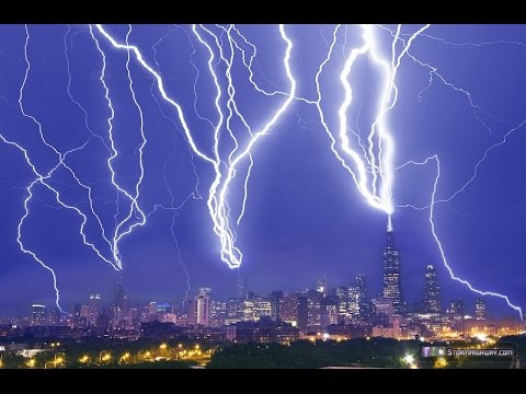 Chicago Lightning Attack The Making Of A Composite Image