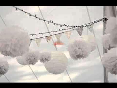 Diy white party decorating ideas youtube for All white party decoration ideas