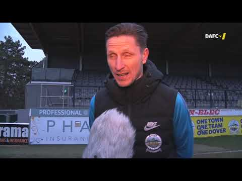 Player Reaction: Dover Athletic 3-0 Braintree Town