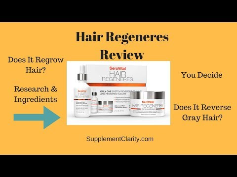 SeroVital Hair Regeneres Review: Everything! Research And