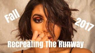 Recreating The Runway - FALL 2017 Fashion Week Makeup Tut (Gigi Hadid)