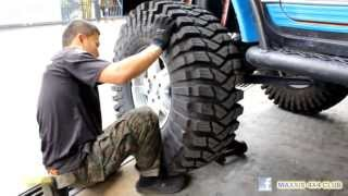"""Maxxis 4x4 Club Malaysia-Tyre change 40"""" Trepador Competition"""