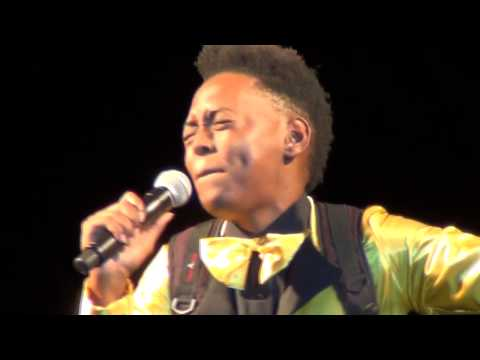 """Chandelier"" [Sia]-Spicerock Band ft. Jasmine Murray [Backpack Girl] -Naniki Music Festival  '15"