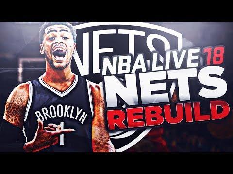 Rebuilding the BROOKLYN NETS! DLO MVP?! NEW SUPERTEAM?!! NBA LIVE 18