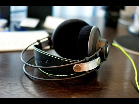 Possibly The Best Headphones Ever...AKG Q701 Quincy Jones