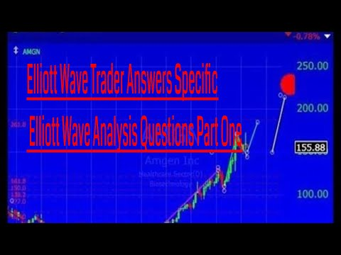 Elliott Wave Trader Answers Specific Elliott Wave Analysis Questions Part One