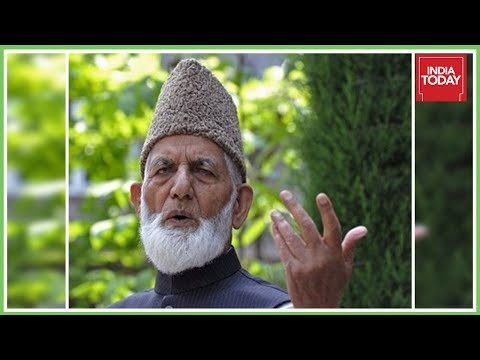 Syed Ali Shah Geelani Stalled By J&K Police From Meeting Hurriyat Leaders
