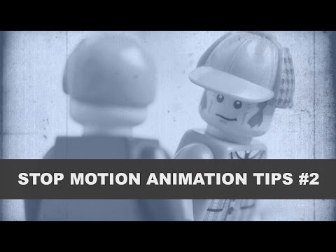 Ease In Ease Out Animation - LEGO Stop...