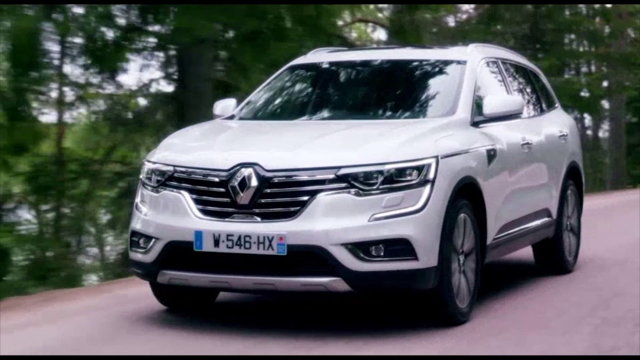 2017 new renault koleos initiale paris driving video. Black Bedroom Furniture Sets. Home Design Ideas