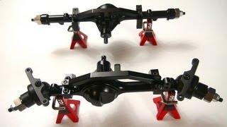 Rc Adventures - Rc4wd Gelände Ii 4x4 Truck Kit W/defender D90 Body Set - Build Video (pt2)