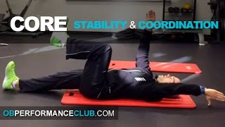 Great Core Stability & Coordination Exercise for Your Golf Game