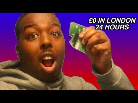 Spending £0 in London for 24 HOURS! - LDN HACKS