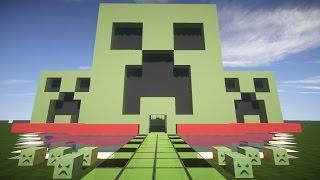 Майнкрафт урок: Как построить дом КРИПЕРА для выживания