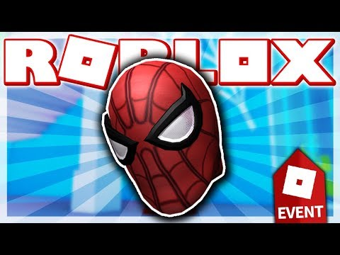 How To Get Spiderman S Mask Roblox Spiderman Event Heroes Of