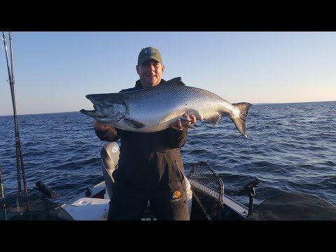 NFN's 2017 K/D Salmon Tournament Kewaunee Door County Wisconsin Lake Michigan