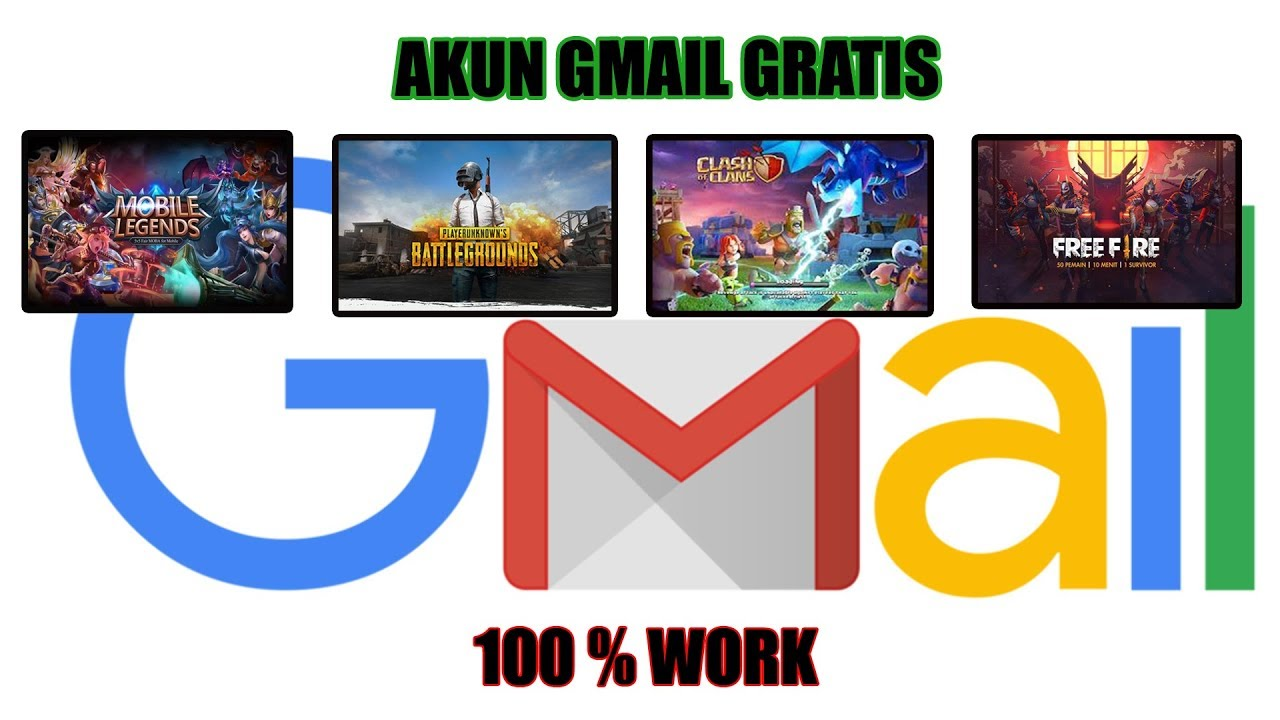 Bagi Bagi Akun Gmail Gratis Part 1 Youtube