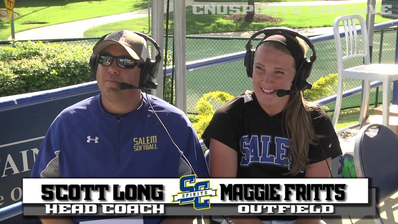 NCAA Softball Regional Post Game Interview Salem vs Ramapo ...