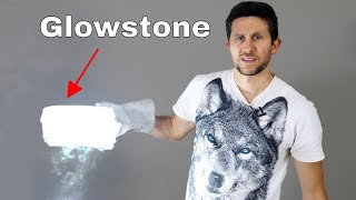 Making a Real-Life Glowstone With Magnesium in Dry Ice