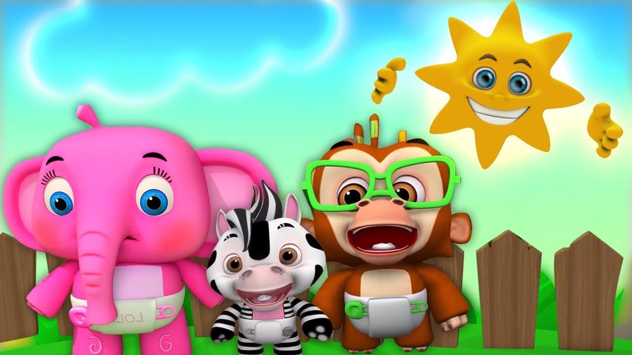 Mr Keemasan Matahari Kartun Anak Lagu Anak Terpopuler Little
