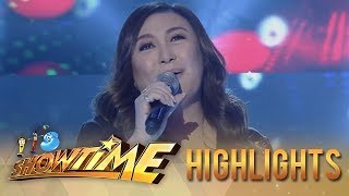 "It's Showtime: Sharon Cuneta performs ""Mr. DJ"" for her 40th anniversary celebration"