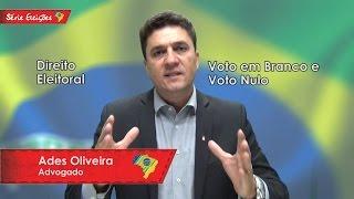 Direito Eleitoral - Voto em Branco e Voto Nulo