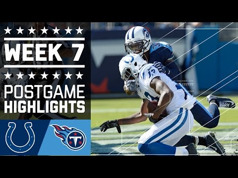 Colts vs. Titans | NFL Week 7 Game Highlights