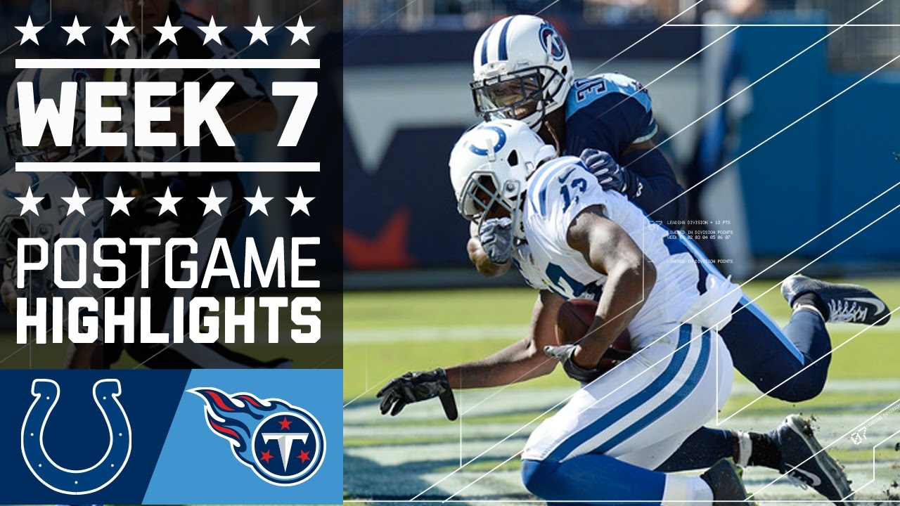 Colts vs. Titans | NFL Week 7 Game Highlights - YouTube