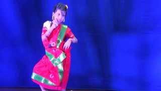 Maahi  Performing Boli O Nonodi at Bharati Durgapuja 2013, Bangkok