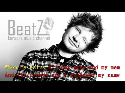 Ed Sheeran - Thinking out loud [Beatz Karaoke] Full Clean, High Definition
