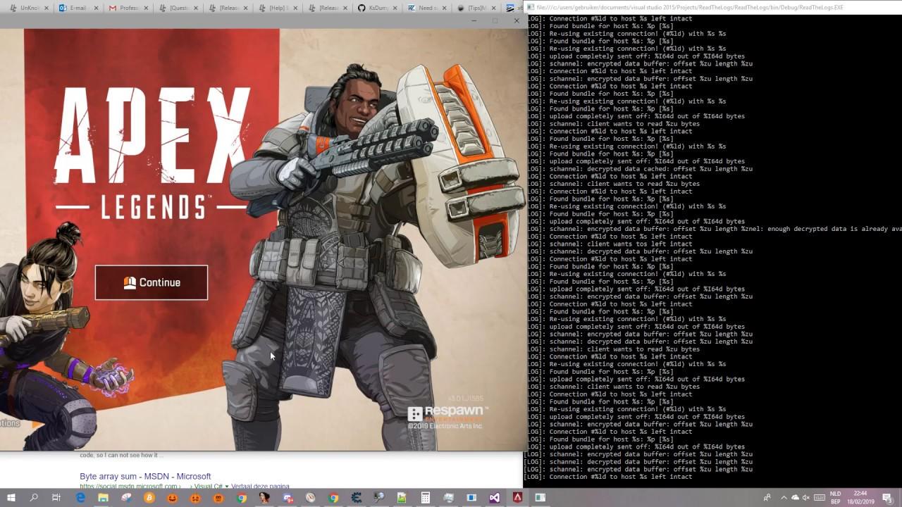 Apex Legends - Network Infos