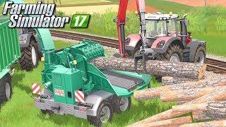 Wióry drzewne - Farming Simulator 17 [PLATINUM] | #51