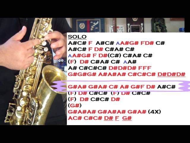 OMI - CHEERLEADER - (TRUMPET PART ON ALTO SAX) SANTIAGO PACHECO ...