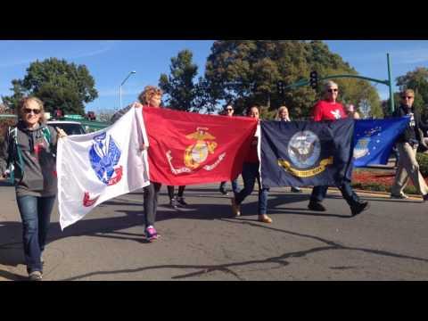 2016 - November 5th Veterans day parade - Clarksville TN