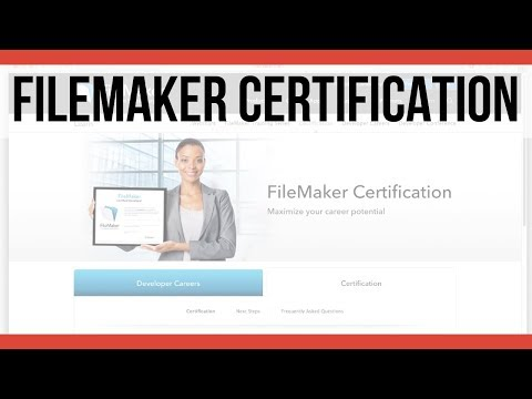 Introduction to FileMaker Certification-FileMaker Pro 16-FileMaker Database Training