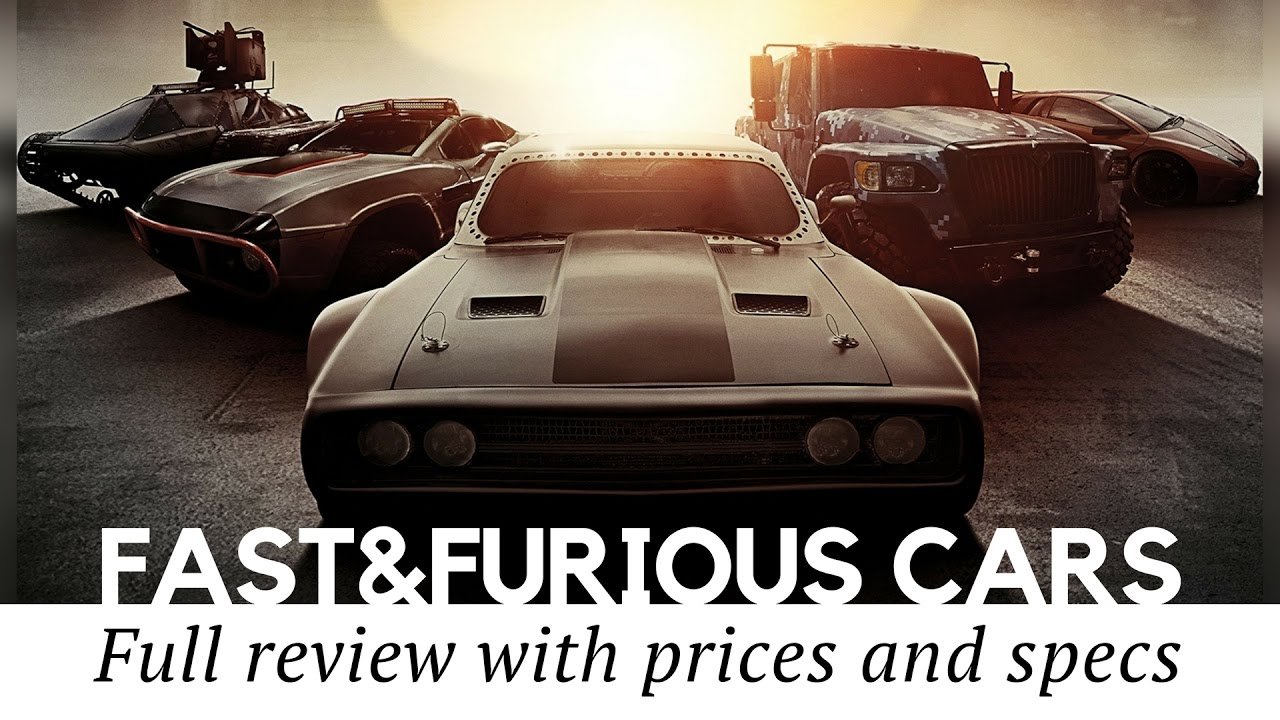 Top 12 Cars from Fast and Furious 8 (Full Review with Prices and ...