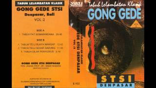 Balinese Gamelan Gong Gede Vol  2 Side B   STSI Denpasar