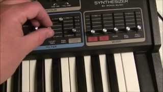 Realistic Moog MG-1 - Part 2