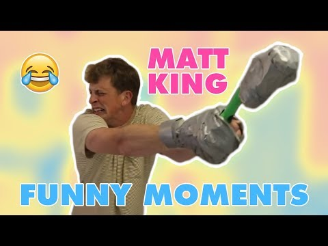 MATT KING FUNNY MOMENTS