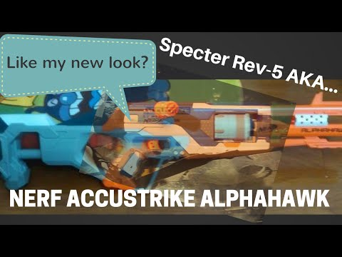 """Nerf Accustrike Alphahawk: News-""""New Blaster Line's Flagship A Specter With Makeover"""" says justajolt"""