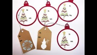 12 Days of Christmas Day 4 Tags Galore